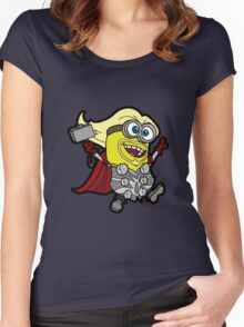 Minions Assemble - Lord of Thunder, Prince of Mingard Women's Fitted Scoop T-Shirt