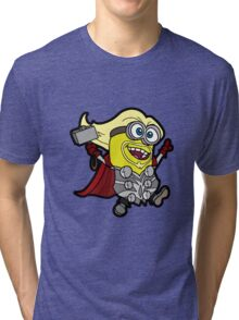 Minions Assemble - Lord of Thunder, Prince of Mingard Tri-blend T-Shirt