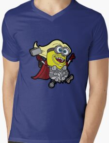 Minions Assemble - Lord of Thunder, Prince of Mingard Mens V-Neck T-Shirt