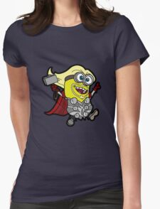 Minions Assemble - Lord of Thunder, Prince of Mingard Womens Fitted T-Shirt