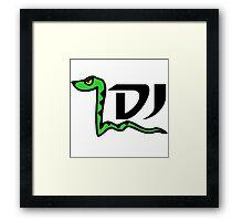 DJ SNAKE Framed Print