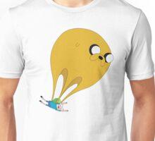 Finn and Jake-Balloon Unisex T-Shirt