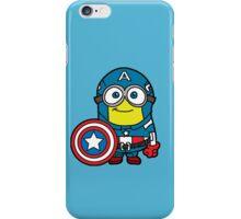 Minions Assemble - Captain Minerica iPhone Case/Skin