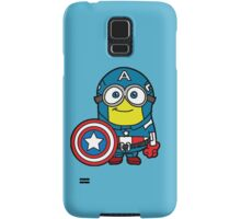 Minions Assemble - Captain Minerica Samsung Galaxy Case/Skin
