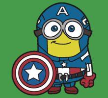 Minions Assemble - Captain Minerica Kids Clothes