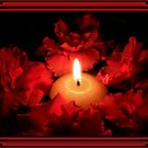 redpetals by candlelight by cynthiab