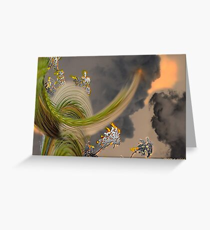 BACK TO INNOCENCE Greeting Card