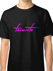 The Pinkprint: Favorite [Song Titile] Classic T-Shirt
