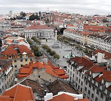 Looking Down on Lisbon by trish725
