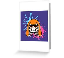 Powerpuff Inkling Greeting Card