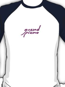 The Pinkprint: Grand Piano [Song Titile] T-Shirt