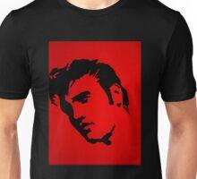 Elvis in Red Satin Unisex T-Shirt