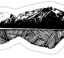 Mountain Man (Into the Wild) Sticker