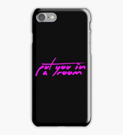 The Pinkprint: Put You In A Room [Song Titile] iPhone Case/Skin