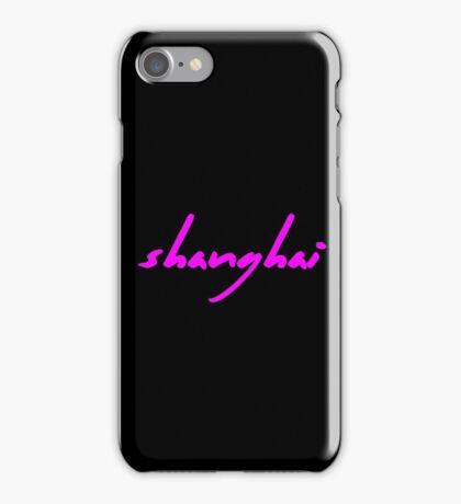 The Pinkprint: Shanghai [Song Titile] iPhone Case/Skin