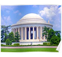 *JEFFERSON MEMORIAL* Poster