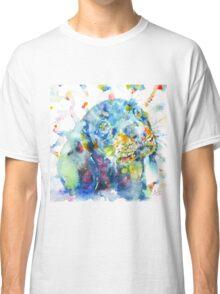 WATERCOLOR DACHSHUND Classic T-Shirt