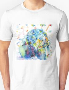 WATERCOLOR DACHSHUND Unisex T-Shirt