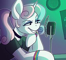 College Radio Host Sweetie Belle by Horrible People Productions