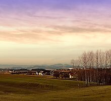 Beautiful panorama under a cloudy sky | landscape photography by Patrick Jobst