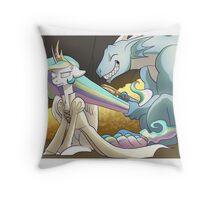Hoard of Princesses Throw Pillow