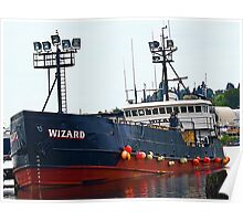 "The ""Wizard"", Deadliest Catch Crab Boat Poster"
