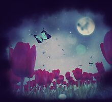 Night Tulips by AnnArtshock