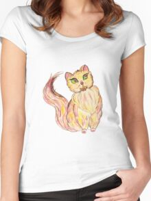 Red Persian Women's Fitted Scoop T-Shirt