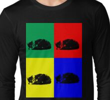 Pop Art Tabby Cat  Long Sleeve T-Shirt