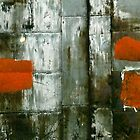 Wall Abstract by pj johnson