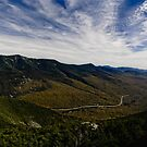 Franconia Notch Parkway, New Hampshire Pano by RonSparks