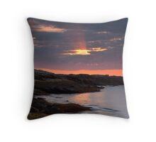 Sunrise Boothbay Throw Pillow