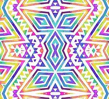 Tribal kaleidoscope. by Elena Belokrinitski