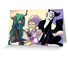 Fluttershy's Home for Reformed Villains Greeting Card