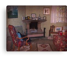 Old Church Sitting Room Canvas Print