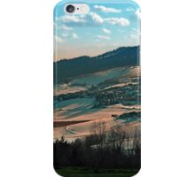 Winter wonderland valley scenery | landscape photography iPhone Case/Skin