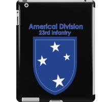 Americal Division - 23rd Infantry iPad Case/Skin