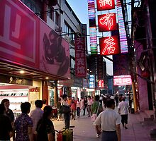 Hutong Evening - Beijing, China by Alex Zuccarelli