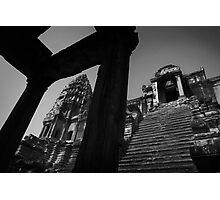 Angkor Stairs - Angkor Wat, Cambodia Photographic Print