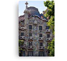 Gaudi, Barcelona, Spain Canvas Print