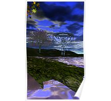 Zen Set Dreamcatcher Poster