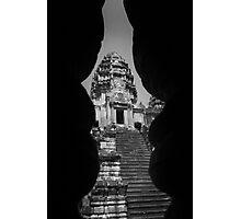 Angkor Wat Tower - Angkor Wat, Cambodia Photographic Print