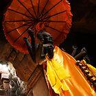 Vishnu Statue - Angkor Wat, Cambodia by Alex Zuccarelli