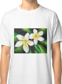 Tropical Plumeria Classic T-Shirt