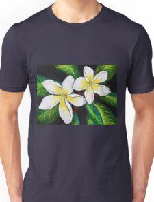 Tropical Plumeria Unisex T-Shirt