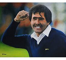 Seve Ballesteros Oil on Canvas Photographic Print