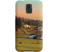 Clouds over the mountains II | landscape photography Samsung Galaxy Case/Skin