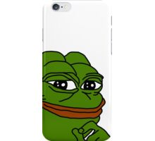 Pepe the frog  iPhone Case/Skin