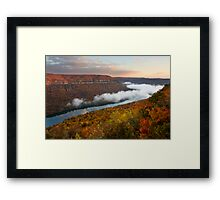 Tennessee River Gorge - Chattanooga, Tennessee Framed Print