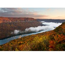 Tennessee River Gorge - Chattanooga, Tennessee Photographic Print